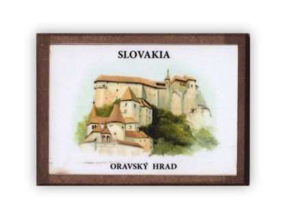 Oravský hrad - magnetka