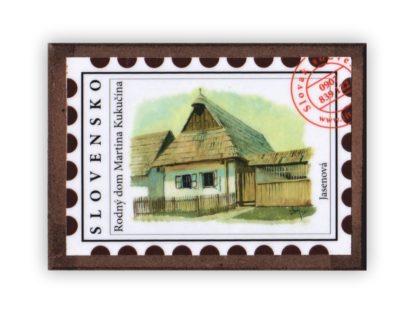 Kukučínov dom - magnetka